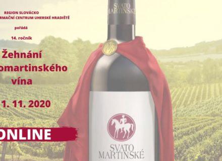 Žehnání svatomartinského vína on-line
