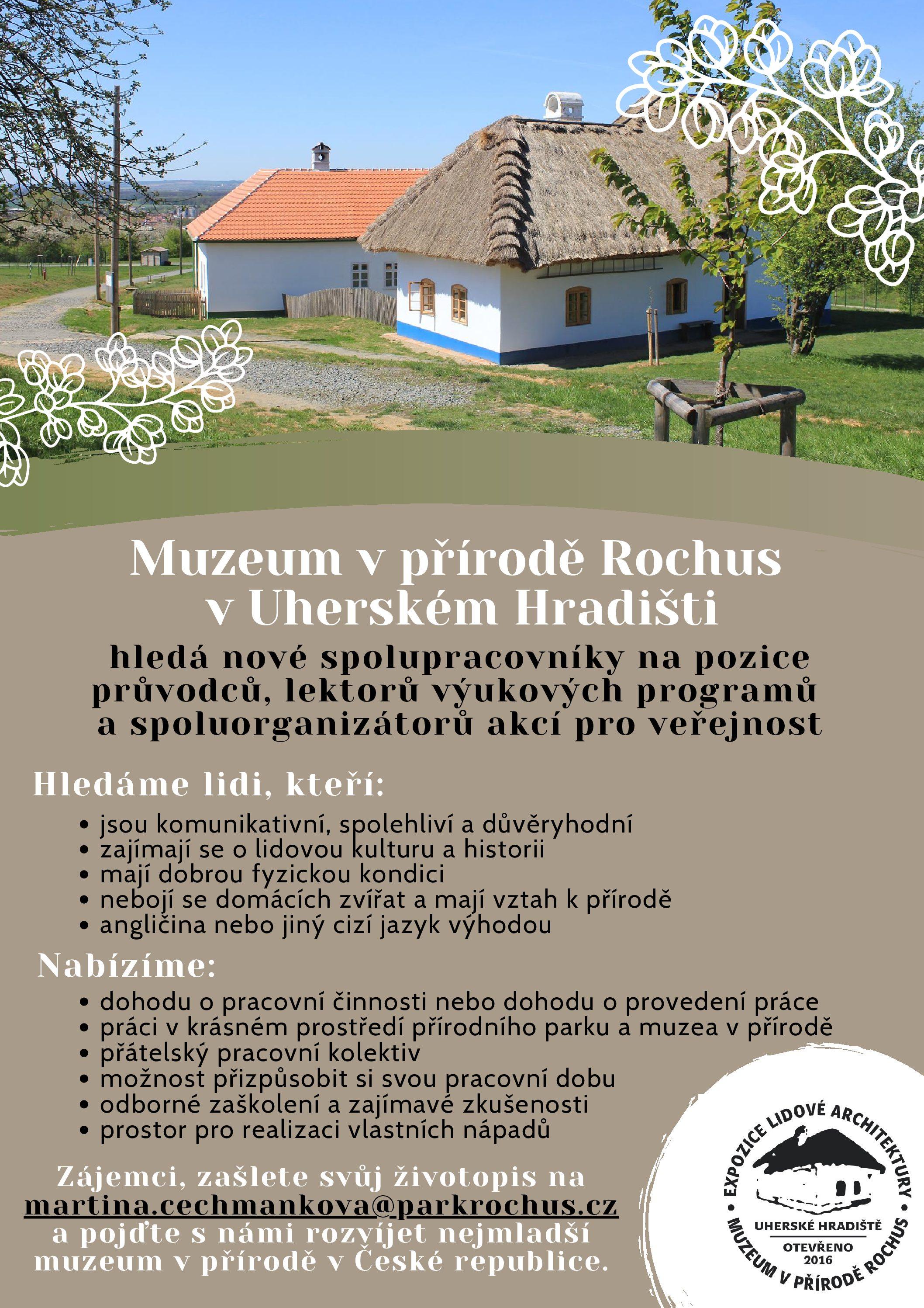 Rozšiřujeme řady průvodců ve skanzenu Rochus