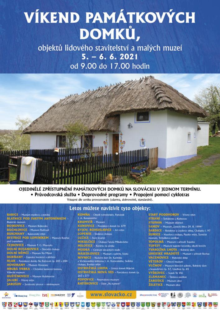 Víkend památkových domků ve skanzenu Rochus